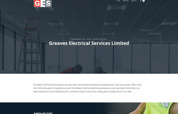 Electrical Website Solution