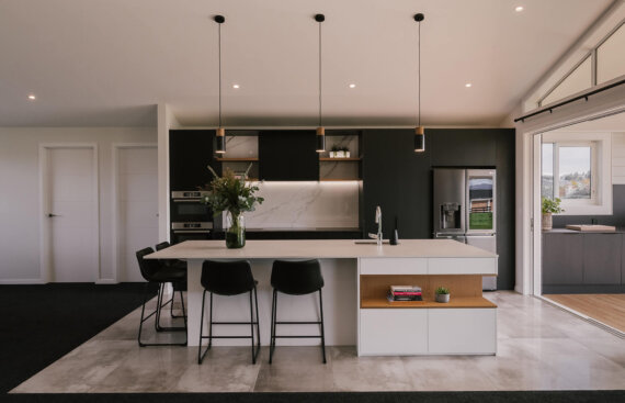 new build kitchen photography