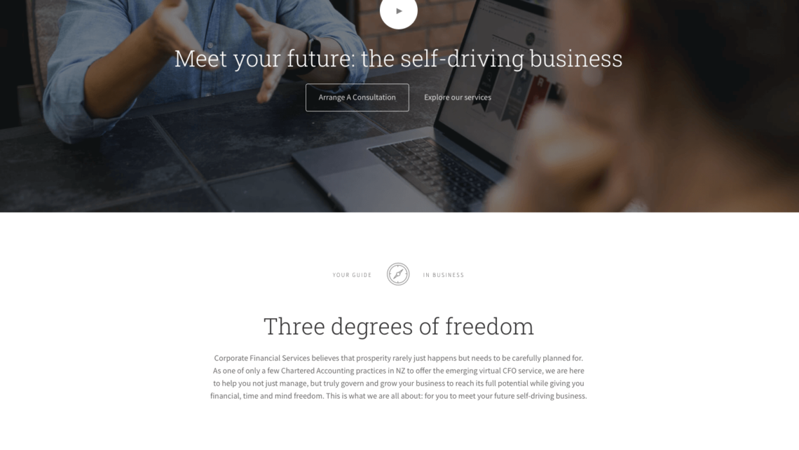 accountant website and photography